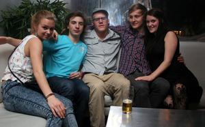 Silk. Susanne, Erik, Suggan, Miki och Lisa