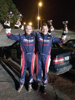 Anton Brorsson och codrivern David Arhusiander, Jämtlands MK, vann Volvo original-klassen i Pirelli Ralli i finska Tammerfors i helgen.