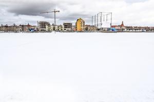Storsjö strand onsdagen 15 mars.