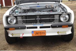 Enligt Lasse, är Ford Escort urmodern för alla rallybilar.