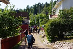 På vandring i Höga kusten, Ulvön.