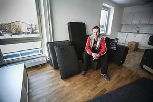 Axel Grinde och hans bror ska bo i en trea på 75 kvadratmeter i Fagerskrapan.