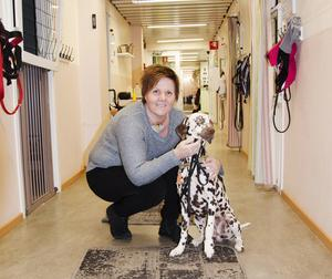 Birsta Hundcenters ägare Susanne Björndotter är en av initiativtagarna till nyårsfirandet.