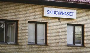 Skidgymnasiet i Järpen.