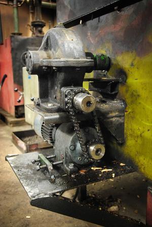 Alla konstruktioner i David Åsbloms panncentral har han byggt ihop helt för egen maskin.
