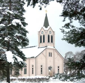 Arkivbild Järbo kyrka.