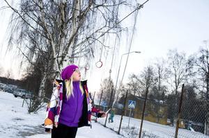 Ebba Byström tycker att det är mycket i utomhusmiljön som måste fixas.