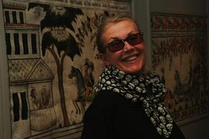 Kultuchef Marie Folkesson gläds över höga besökssiffror i sommar. Foto:AnnkiHällberg