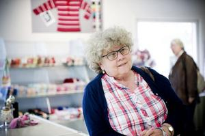 Teta Backlund, stamkund från Söderhamn, chockades av konkursbeskedet.