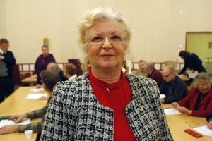 Monica Robin Svensson, Framtidens kyrka, ser fram emot arbetet i nya kyrkorådet. – Vi ska jobba så obyråkratiskt som möjligt och hoppas på gott samarbete med oppositionen. Det vi snarast ska göra är att se över delegationsordningen mellan kyrkorådet, dess arbetsutskott, och fullmäktige.