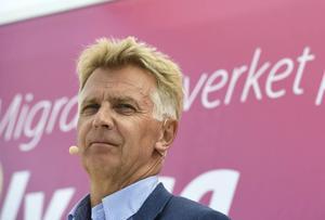 Migrationsverkets generaldirektör Anders Danielsson vill säga så lite som möjligt om avtalet med Ocean Gala.
