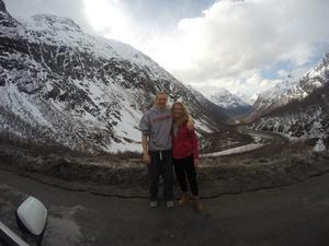 Ett utdrag från Mike Bruesewitz blogg, här på semester i Norge.