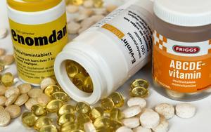 Ifrågasatta. Har kommuner rätt att förbjuda försäljning av kosttillskott som innehåller vitaminer?Foto: TT