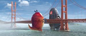 """TRE DIMENSIONER. Med """"Monsters vs. Aliens"""" inleds det som ska bli det stora 3D-året. Pixar                                    kommer med flera 3D-filmer, Steven Spielberg gör """"Tintin"""" i en tredje dimension, George Lucas har planer på att uppgradera """"Star Wars"""" och James Cameron kommer med actionfilmen """"Avatar"""" i 3D.Foto:"""