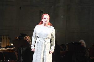 Nina Stemme i rollen som den grymma prinsessan Turandot.