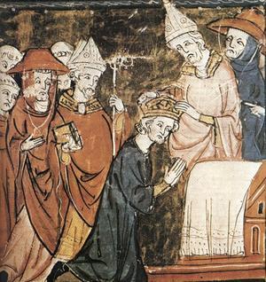 Karl den Stores kröning.