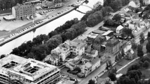 SCA:s moderna huvudkontor började byggas 1958.