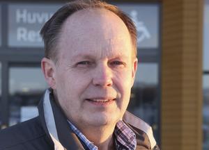 Lasse Söderlind, ansvarig för evenemang på Örnsköldsviks kommun.