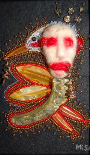 PILLIGT. Några exempel på Misan Tejres pärlkonst.  Se mer på www.misansweden.com
