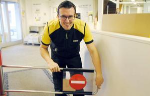 Anders Spinnars får äntligen chansen att stänga grinden i ett senior-VM.