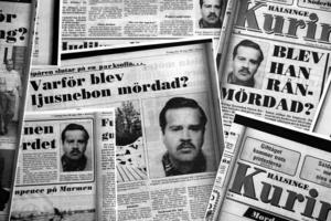 Mordet på Göran Andersson var en stor nyhet.