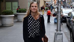 Rönnby Tigers 23-åriga nyförvärv Emma Hellberg.