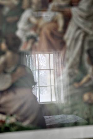 Speglingar i Jesustavlan.