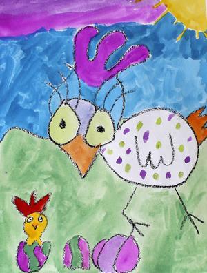 Placering fyra till tio i åldersklassen 7-10 år: Vega Häggblom, 8 år, Nedre Bynom.