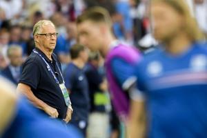 Lars Lagerbäck gör sitt sista ryck som Islands förbundskapten. De är nu vidare till kvartsfinal mot Frankrike.