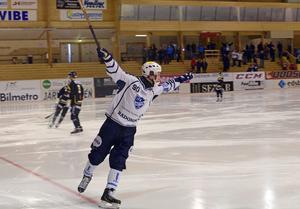 Mathias Stavis hade poängfest i sin första säsong med IFK Rättvik.