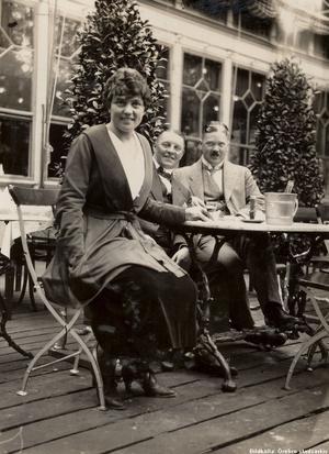 Ett sällskap från Strömpis 1910.