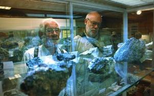 Gruppen studerade först de lokala mineralerna på Gammelgården i Ludvika.