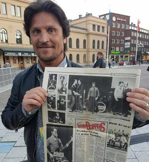 Martin Häggström vill gärna komma i kontakt med mannen som lämnade tidningen.