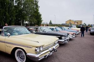 De här tillverkades mellan1057 - 1961 och designades av Virgil Exner.