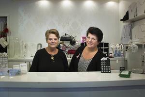 Ingrid Andersson och dottern Jane Bredberg är ser bara positiva saker med nätverket Unika Butiker.