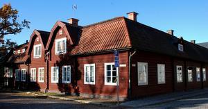 I dag finns det en byggnadsvårdsbutik och ett café i Gamla apoteket i Hedemora. Arkivbild.