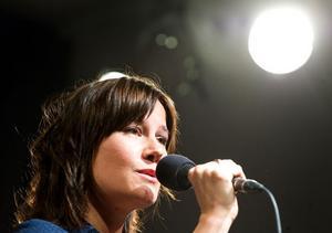Malin Foxdal är en av de som uppträder på Folkmusiknatta.