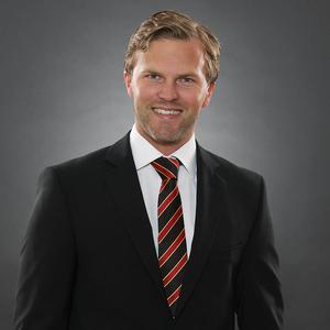Johan Cahling har engagerat sig i humanitära frågor under lång tid och valde att jobba för Brynäs för att de har ett starkt varumärke och engagemang.