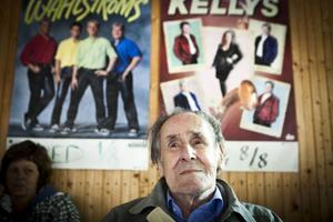 Frans Karlström från Näsåker kom till Forsmonöjet för första gången på 70 år.