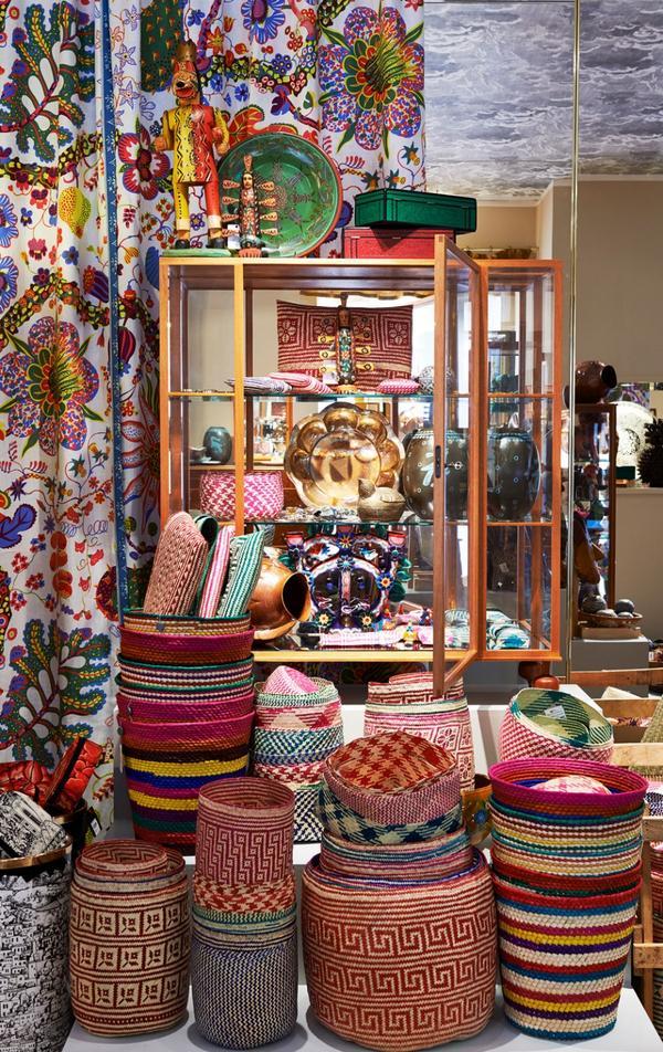 En pågående utställning visar prylar som inhandlats i Mexiko under en resa i grundare Estrid Ericsons fotspår.