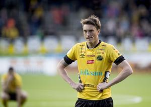 Lasse Nilsson i Elfsborgströjan.