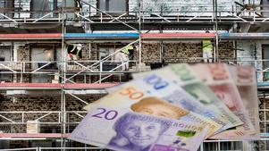 Dalakommunerna får totalt drygt 27 miljoner kronor i stöd från Boverket. Foto: TT/Montage