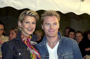 Yvonne och Ronan Keating år 2000.Foto: Mark Earthy/Scanpix