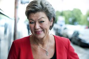 Arbetsmarknadsminister Ylva Johansson (S)   Har Löfvens förtroende att styra upp jobbpolitiken.