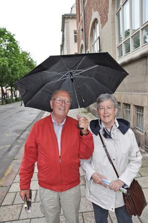 Leif och Birgitta Ericson stannade i Gävle för 18 år sedan - nu är de tillbaka för ett nytt besök.
