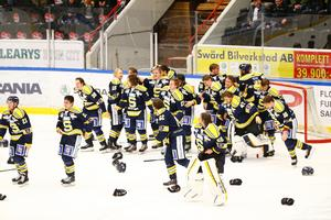 Den 29 mars, 2016. SSK har besegrat Borlänge hemma inför 4600 åskådare. Samtidigt har Troja/Ljungby slagit Sundsvall. Därmed stod det klart att SSK åter är ett allsvenskt lag.