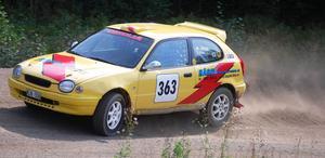 ...medan Mattias Hägg knep två tredjeplatser i rallyklassen.