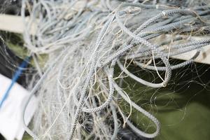 Nät som användes vid ett annat tjuvfiske i Härjedalen förra året.