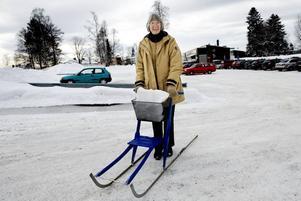 DISTRIKTSSKÖTERSKA. Birgitta Persson arbetade som distriktssköterska i Ockelbo när Daniel var barn och