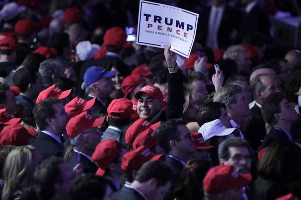 Ansvaret ligger hos väljare som röstade på Trump.